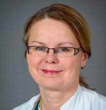Senior consultant in the Department of Anastehesiology and Intensive Care Hanna Tuominen